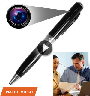 Digital Video Recording Spy Pen - It Really Writes!